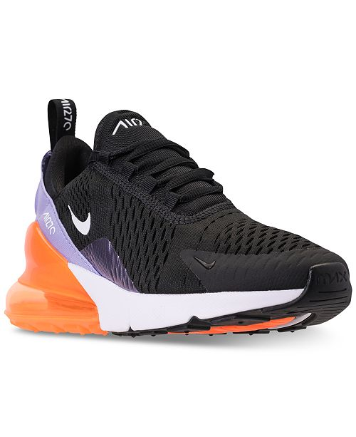 new arrival a19d8 8e3cb Nike Girls' Air Max 270 Casual Sneakers from Finish Line ...