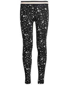 Ideology Big Girls Plus Space-Print Leggings, Created for Macy's