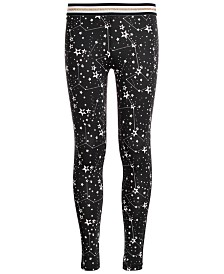 Ideology Big Girls Plus-Size Space-Print Leggings, Created for Macy's