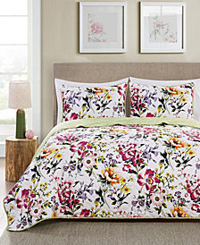 VCNY Home Brooke Reversible 3-Pc. Queen Quilt Set