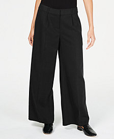Eileen Fisher Tencel™ Pleated Wide-Leg Pants, Regular & Petite