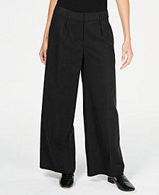 Eileen Fisher Tencel™ Pleated Wide-Leg Pants, Regular & Petite