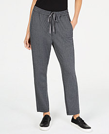 Eileen Fisher Recycled Polyester Pull-On Ankle Pants