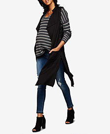 Bb Dakota Maternity Draped Vest
