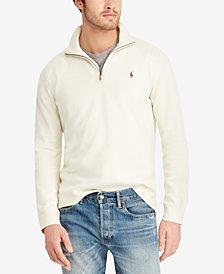 Polo Ralph Lauren Men's Big & Tall Half-Zip Cotton Pullover