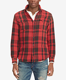 Polo Ralph Lauren Men's Classic Fit Plaid Overshirt