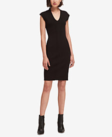 DKNY Studded Sheath Dress, Created for Macy's