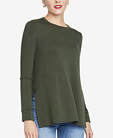 RACHEL Rachel Roy Split-Sleeve Top, Created for Macy's
