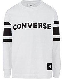 Converse Big Boys Football Jersey Cotton T-Shirt