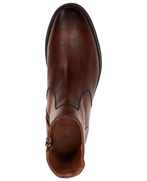 Homme Cognac Inside hommes FryeCommentaires les pour Zip chaussures Toutes de Bottes Paul dCrtshQ