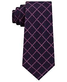 Michael Kors Men's City Grid Silk Tie