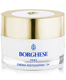 Borghese Crema Ristorativo-24 Continuous Hydration Moisturizer, 1 oz