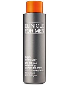For Men Super Energizer Anti-Fatigue Exfoliating Powder Cleanser, 1.7-oz.