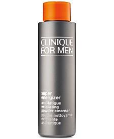 Clinique For Men Super Energizer Anti-Fatigue Exfoliating Powder Cleanser, 1.7-oz.