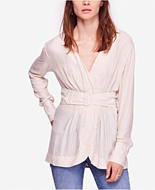 Free People Back In The Spotlight Belted Top