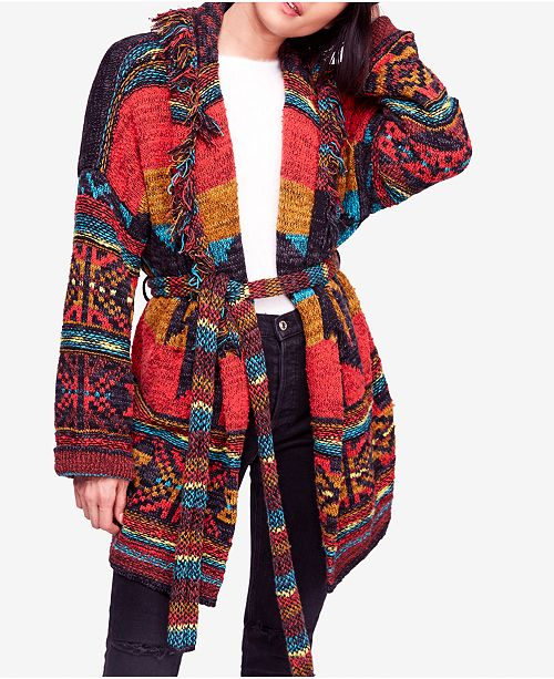 ca3e8fad5 Free People Wild Wild West Belted Cardigan   Reviews - Sweaters ...