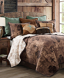 Ironwork 3 Pc Full/Queen Quilt Set
