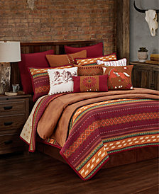 Reversible Solace 3 Pc King Quilt Set