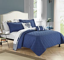 Chic Home Zoe 5 Piece Quilt Set
