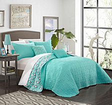 Chic Home Anat 4 Piece Twin Quilt Set