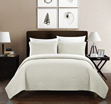 Chic Home Amandla 3 Piece Quilt Sets