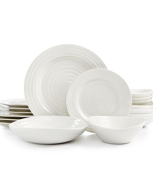 Portmeirion Sophie Conran White 16-Pc. Dinnerware Set, Service for 4, Created for Macy's