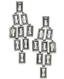 Alfani Geometric Stone Chandelier Earrings, Created for Macy's