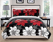 Chic Home Woodside 3 Piece Queen Quilt Set
