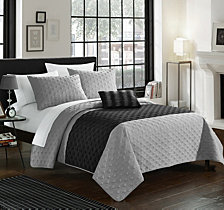 Chic Home Dominic 4 Piece Quilt Sets