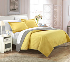 Chic Home Teresa 3 Piece Queen Quilt Set