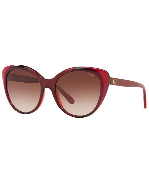 161742a5ba1f COACH Sunglasses, HC8260 55 L1060 & Reviews - Sunglasses by Sunglass ...