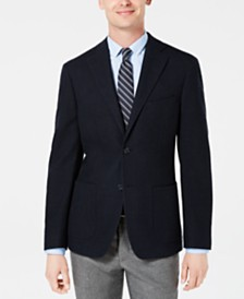 DKNY Men's Slim-Fit Basketweave Sport Coat