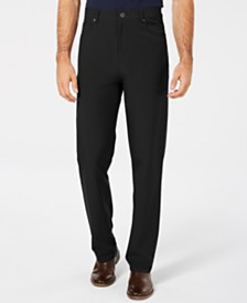 DKNY Men's Slim-Fit Stretch Tech Pants