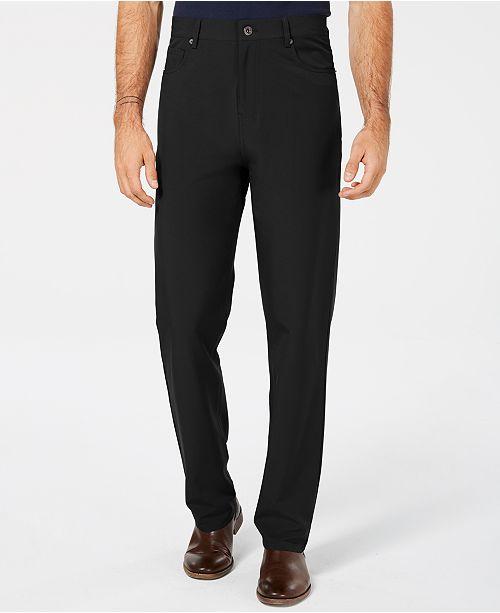 DKNY Men's Slim-Fit Stretch Tech Pants