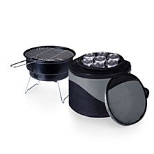Oniva® by Caliente Portable Charcoal Grill & Cooler Tote
