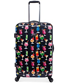 """Jessica Simpson Bottoms Up 25"""" Spinner Suitcase"""
