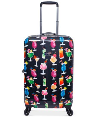 "Bottoms Up 20"" Carry-On Spinner Suitcase"