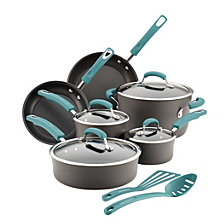 Rachael Ray Hard-Anodized Nonstick 14-Piece Cookware Set