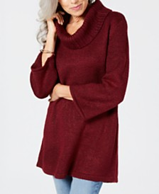 Karen Scott Cowlneck Tunic, Created for Macy's