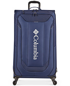 "Columbia Cabin Lake Collegiate Navy 31"" Lightweight Spinner Suitcase"