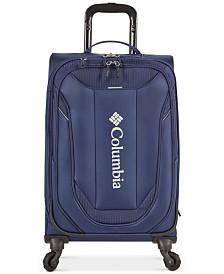 "Columbia Cabin Lake Collegiate Navy 21"" Lightweight Spinner Suitcase"