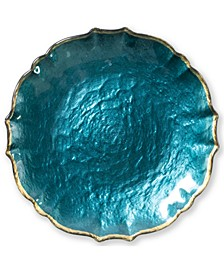 Pastel Glass Collection White Salad Plate