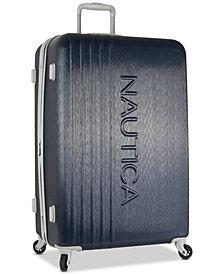 "Nautica Lifeboat 28"" Hardside Spinner Suitcase"
