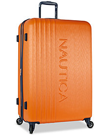 "Nautica Lifeboat 28"" Hardside Spinner Suitcase"