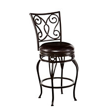 Hanover Swivel Counter Stool, Quick Ship