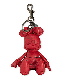 COACH Minnie Mouse Doll Bag Charm