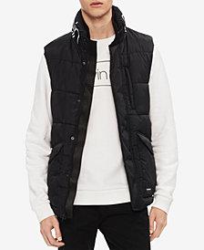 Calvin Klein Men's Logo Zip-Front Puffer Vest