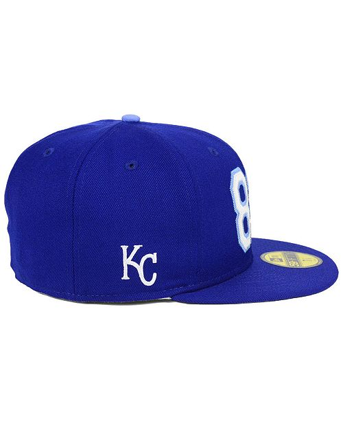competitive price 158b9 2a41e ... New Era Kansas City Royals Area Code 59FIFTY FITTED Cap ...