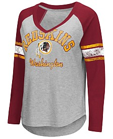 G-III Sports Women's Washington Redskins Sideline Long Sleeve T-Shirt