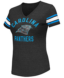 G-III Sports Women's Carolina Panthers Wildcard Bling T-Shirt